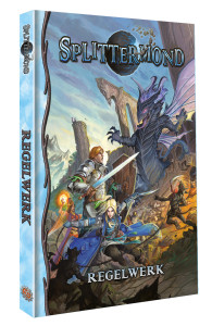 Splittermond Grundregelwerk - Cover 3D