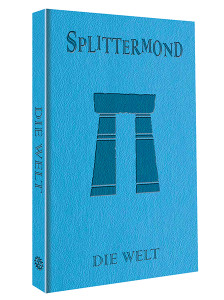 Splittermond-Weltband limitiert - Cover-Preview