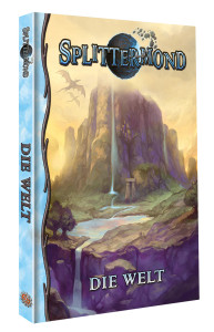 Splittermond Weltband – Cover-Preview