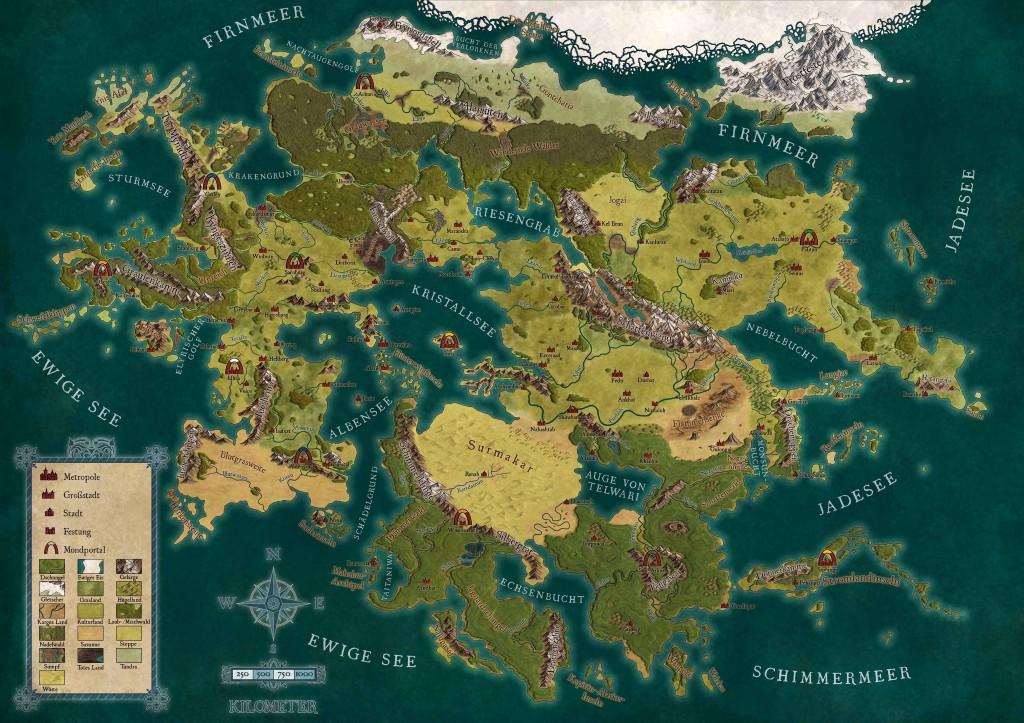Finale Lorakis-Karte