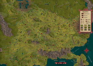 Selenia-Regionalkarte von Robert Altbauer