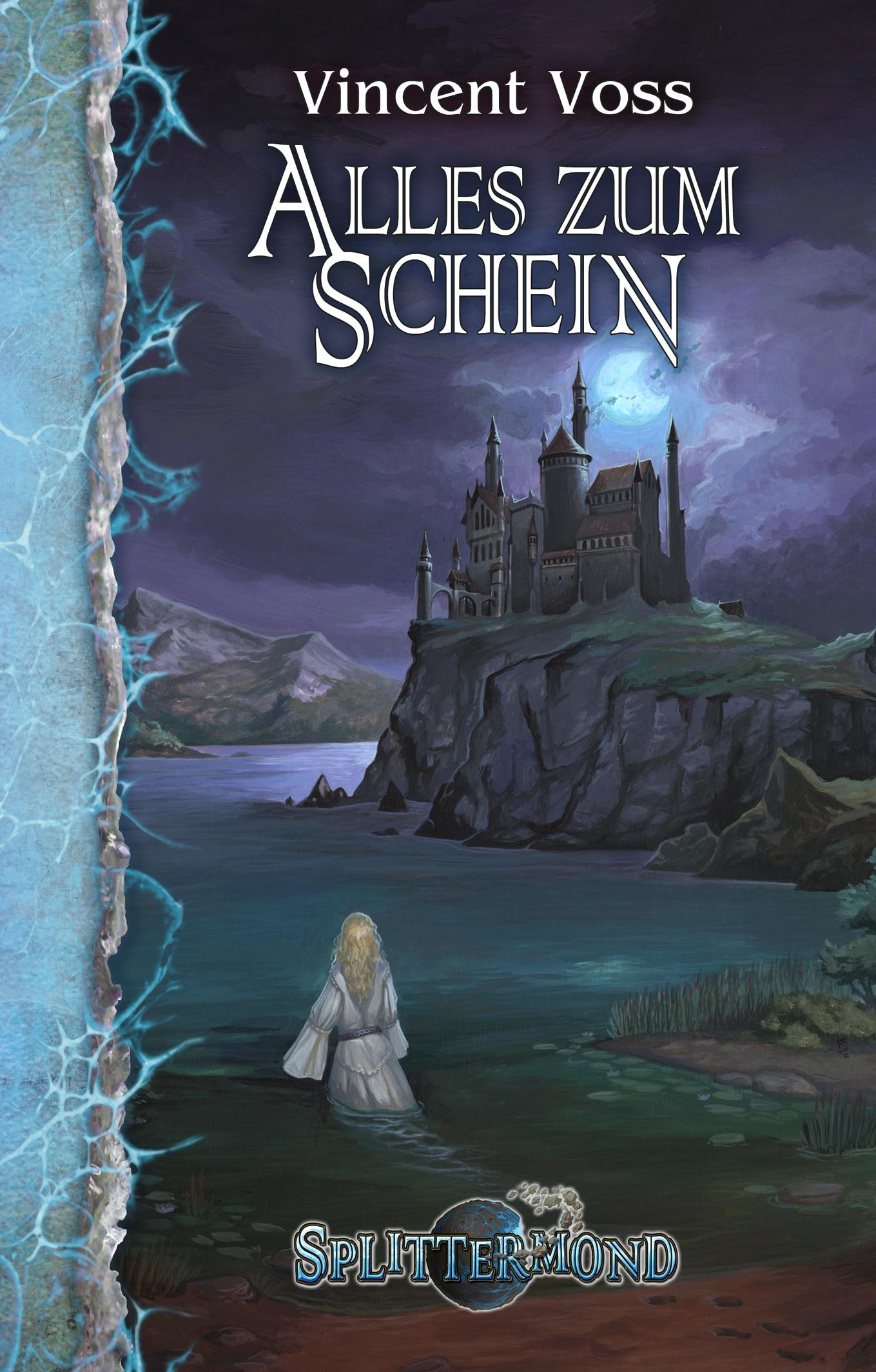 """Vorbesteller-Aktion zum 4. Splittermond-Roman """"Alles zum Schein"""""""