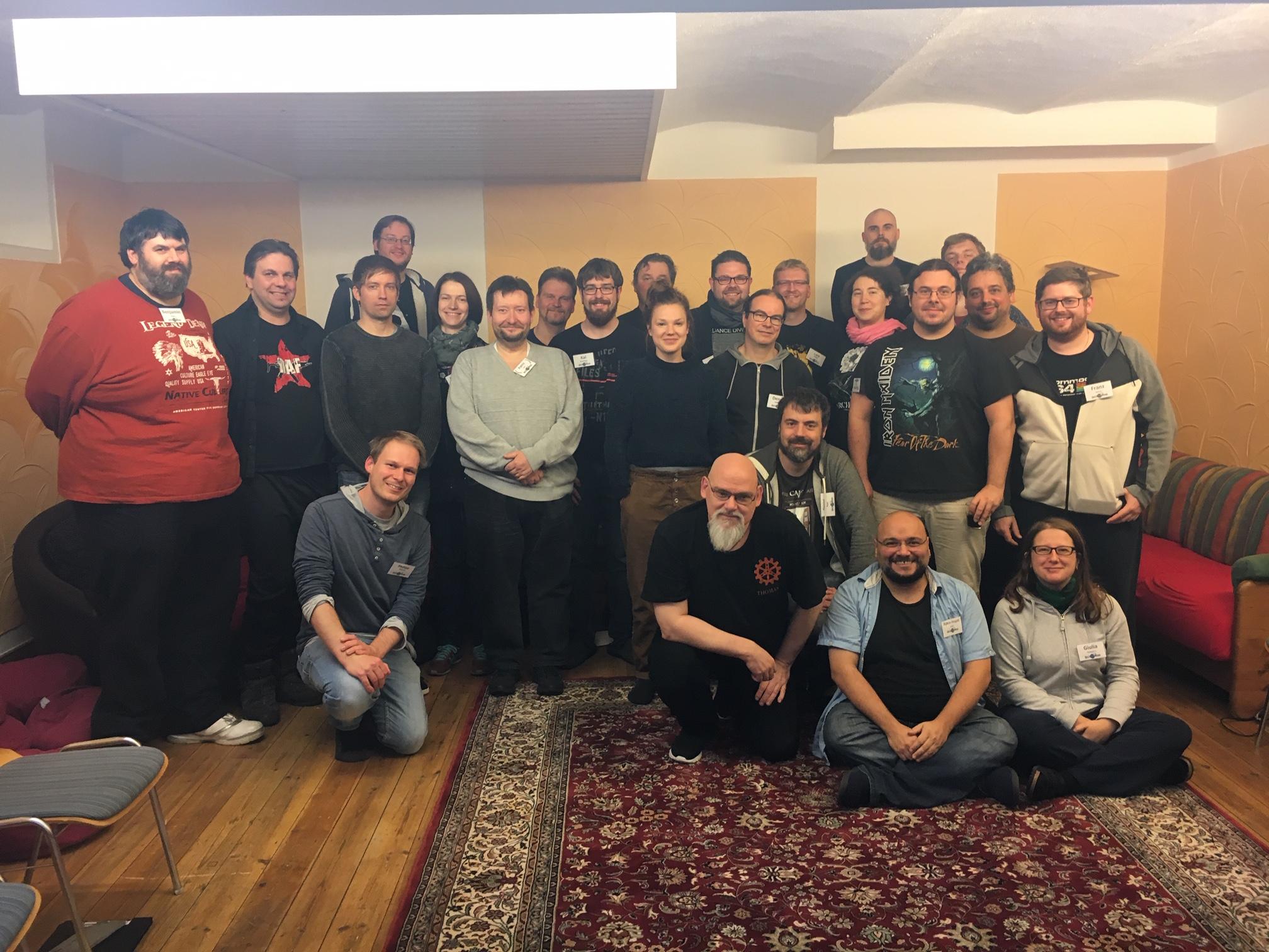 Das zweite Splittermond-Autorentreffen 2018